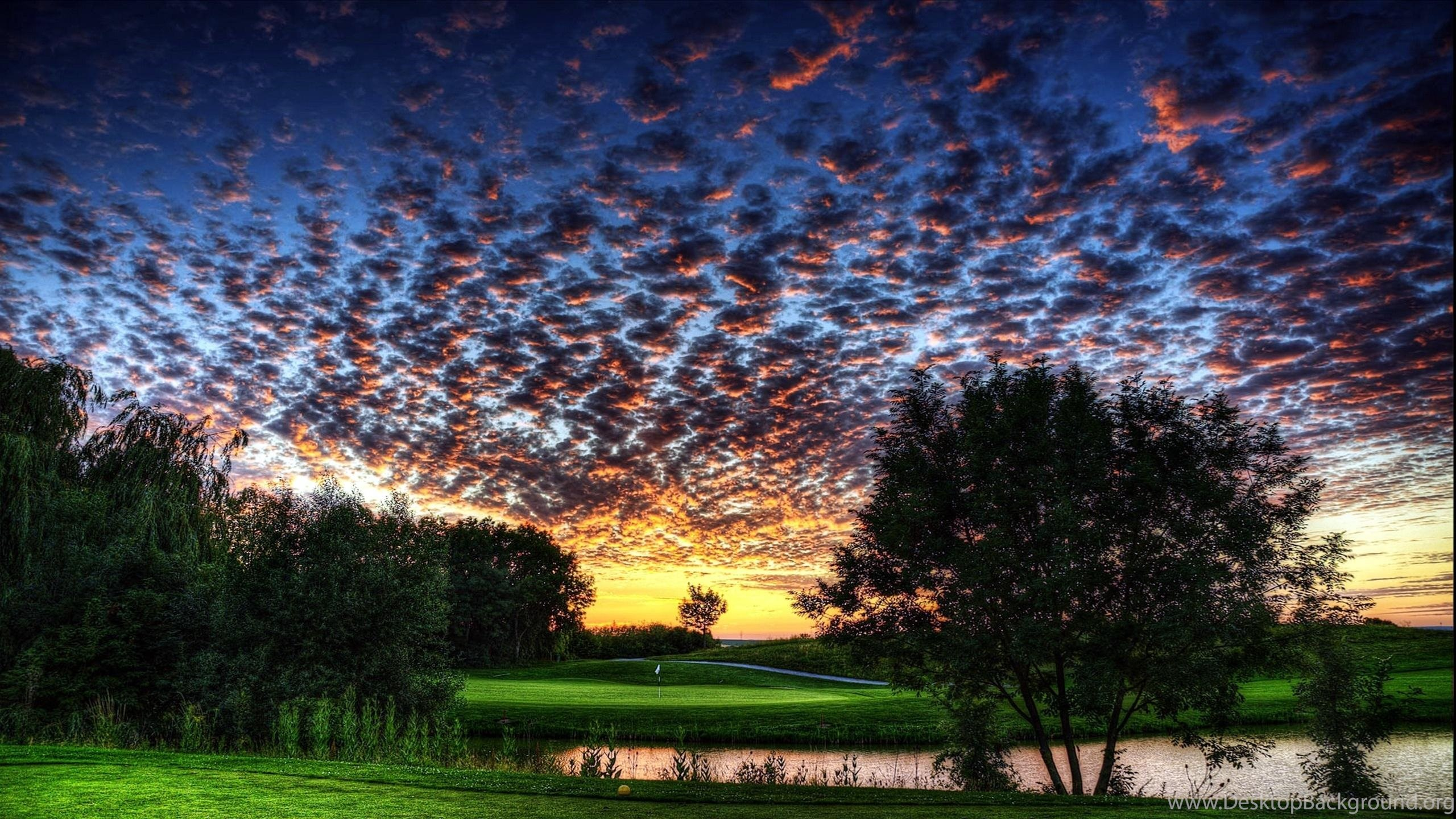 Most Beautiful Golf Courses Wallpapers Amazing Cloudy Course