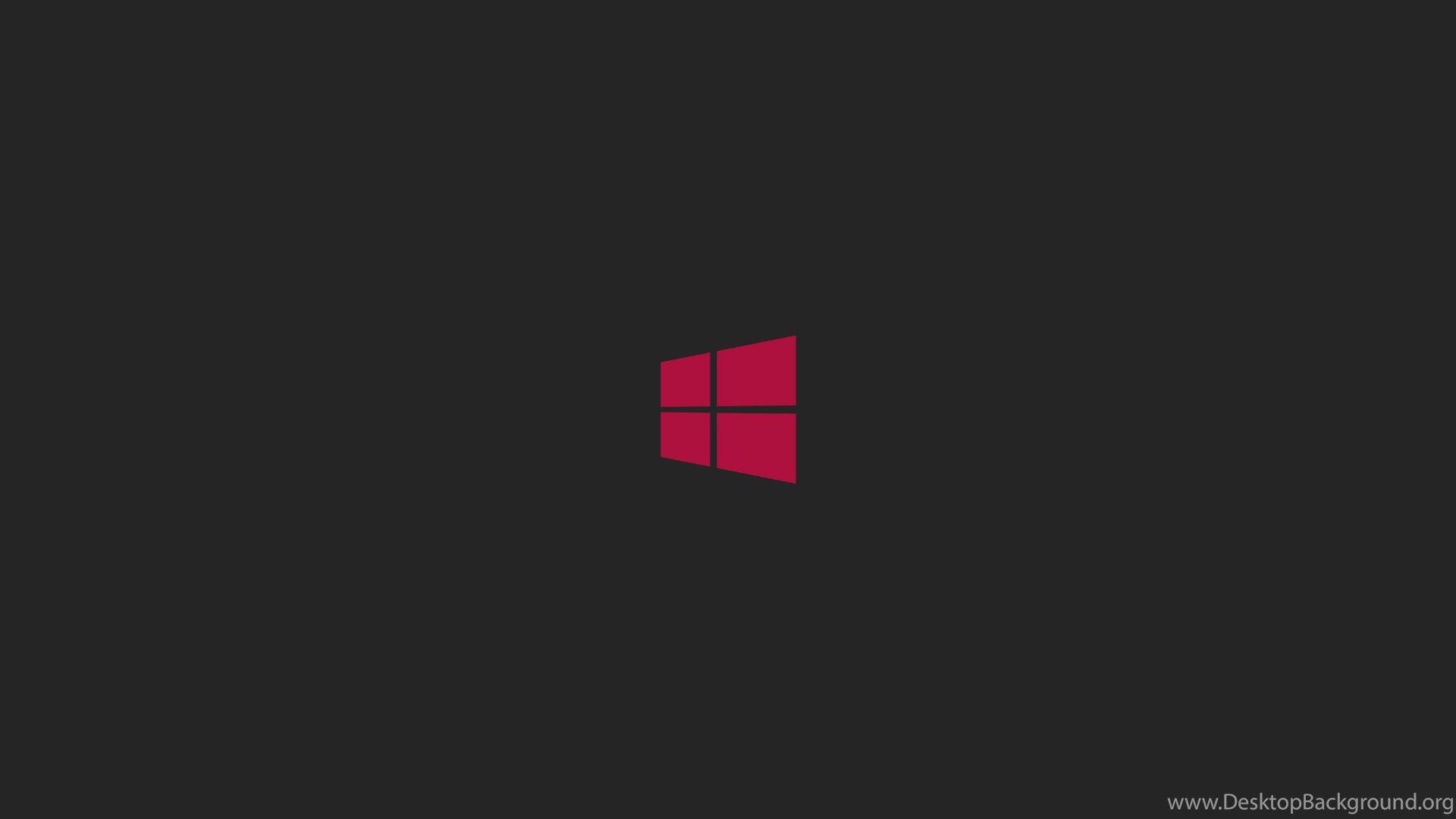 Windows 8 Wallpapers Hd Black Pink Logo Desktop Background