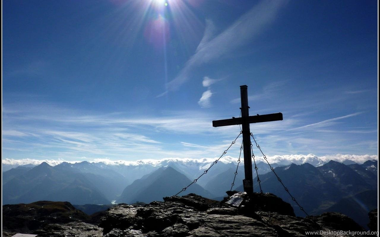 Wallpapers Cross Jesus Nature Hd Tux Tyrol Austria ...