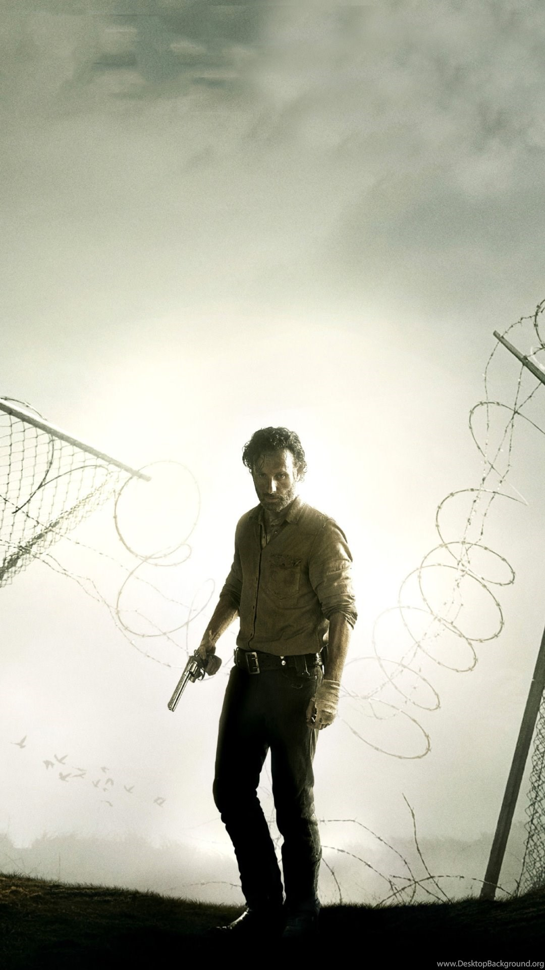 The Walking Dead Andrew Lincoln Wallpapers For Iphone 6 Plus