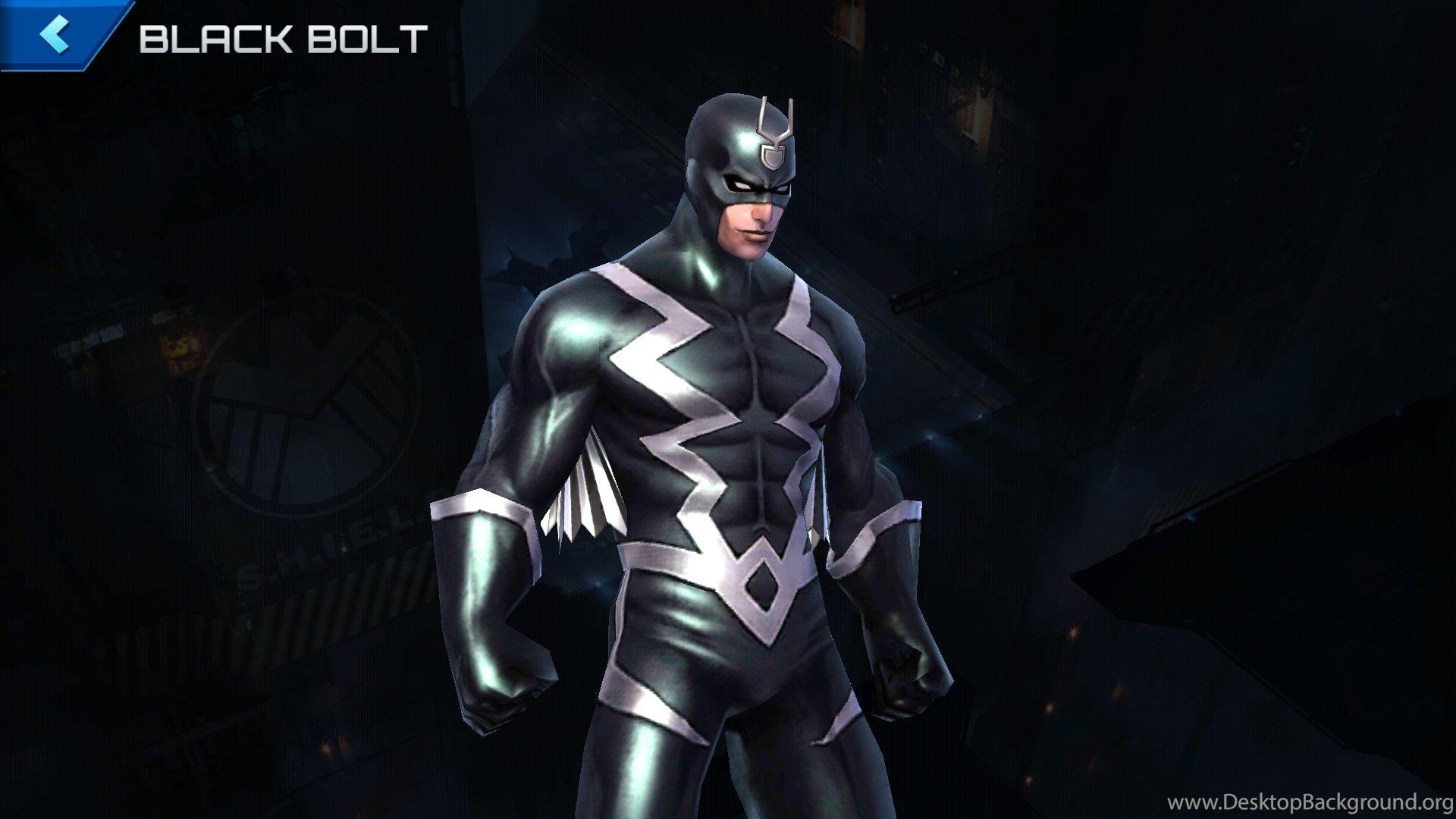 Black Bolt Marvel Future Fight Wikia Wikia Desktop Background