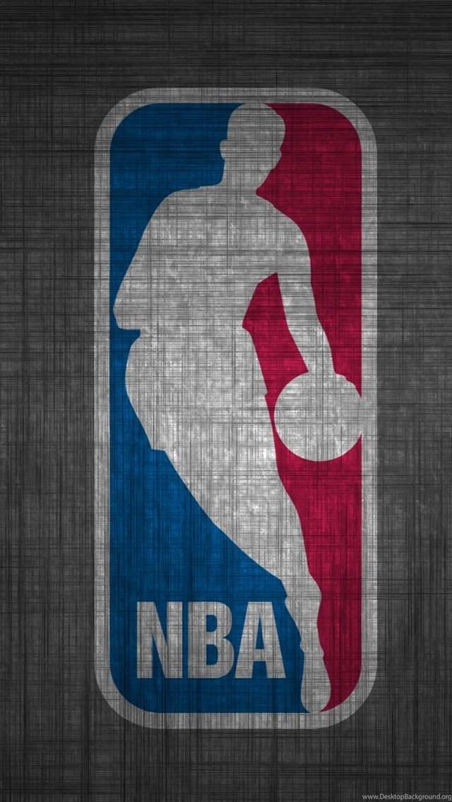 Nba Wallpapers For Mobile Nba Logo Basketball League Iphone 5 Desktop Background