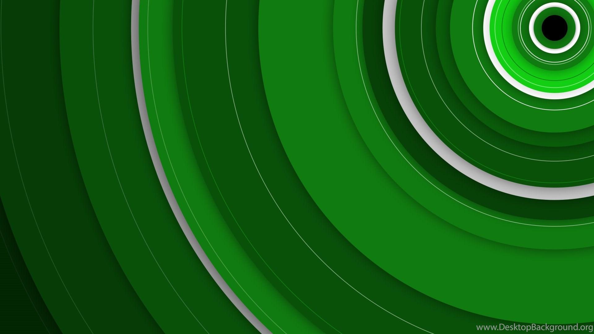 Xbox One Backgrounds Themes X1bg Circles Green Desktop Background