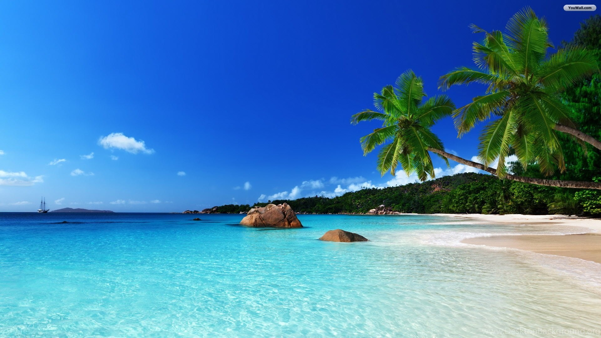 Beach Desktop Backgrounds 1920x1080 Best HD Desktop ...