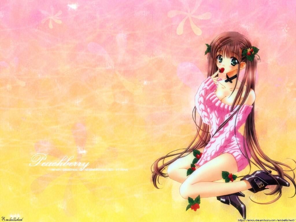 Wallpapers Cute Girls Animated Anime Girl Cartoon 1024x768 Desktop Background