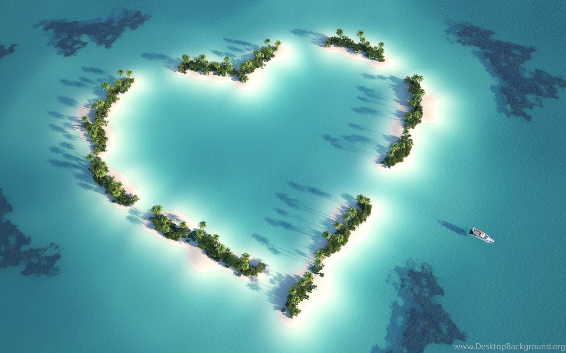 beautiful love island view hd wallpapers for desktop desktop background