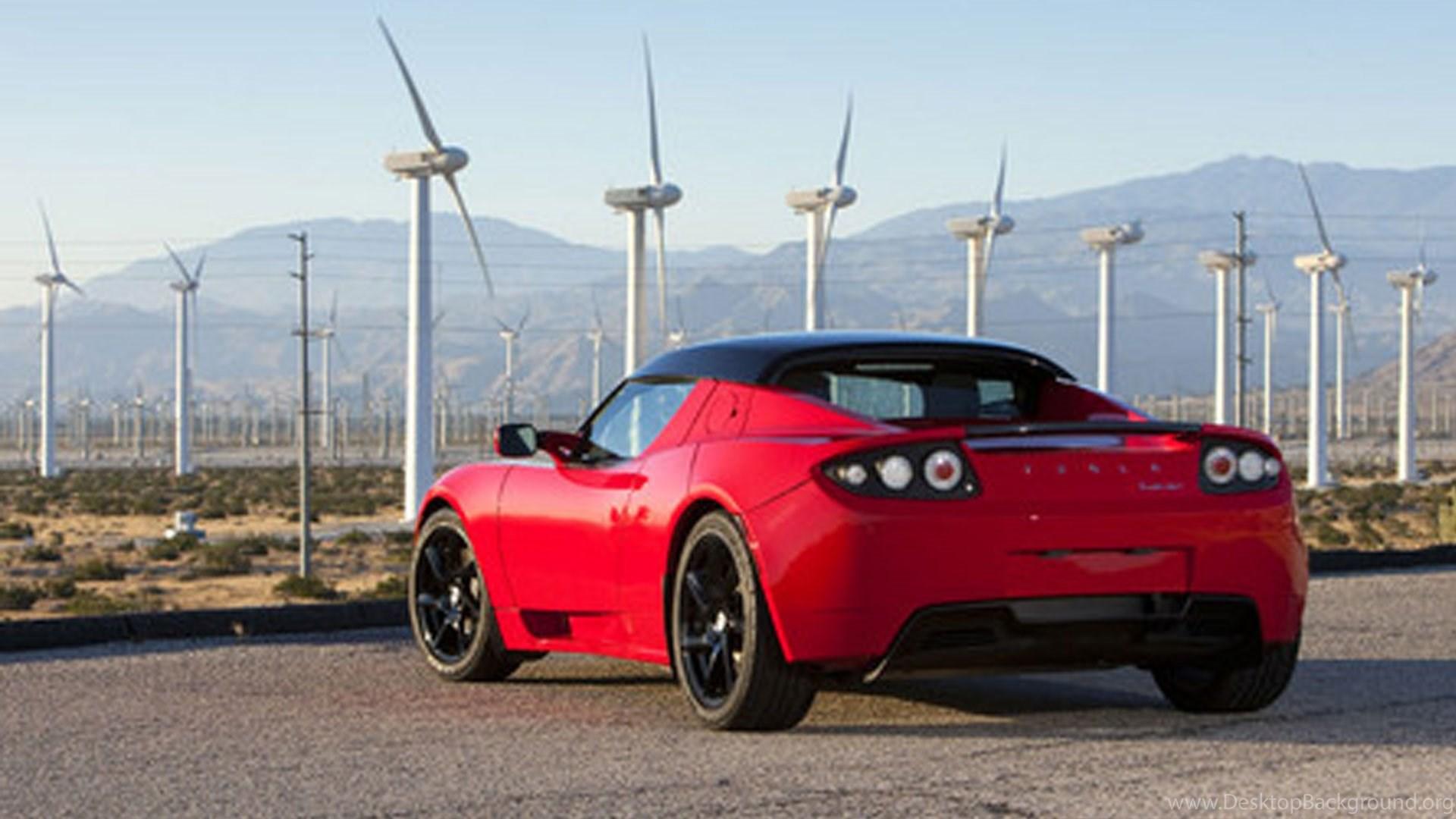 New Tesla Roadster 2 5 Red Wallpaper 2 Freak Wheel Desktop