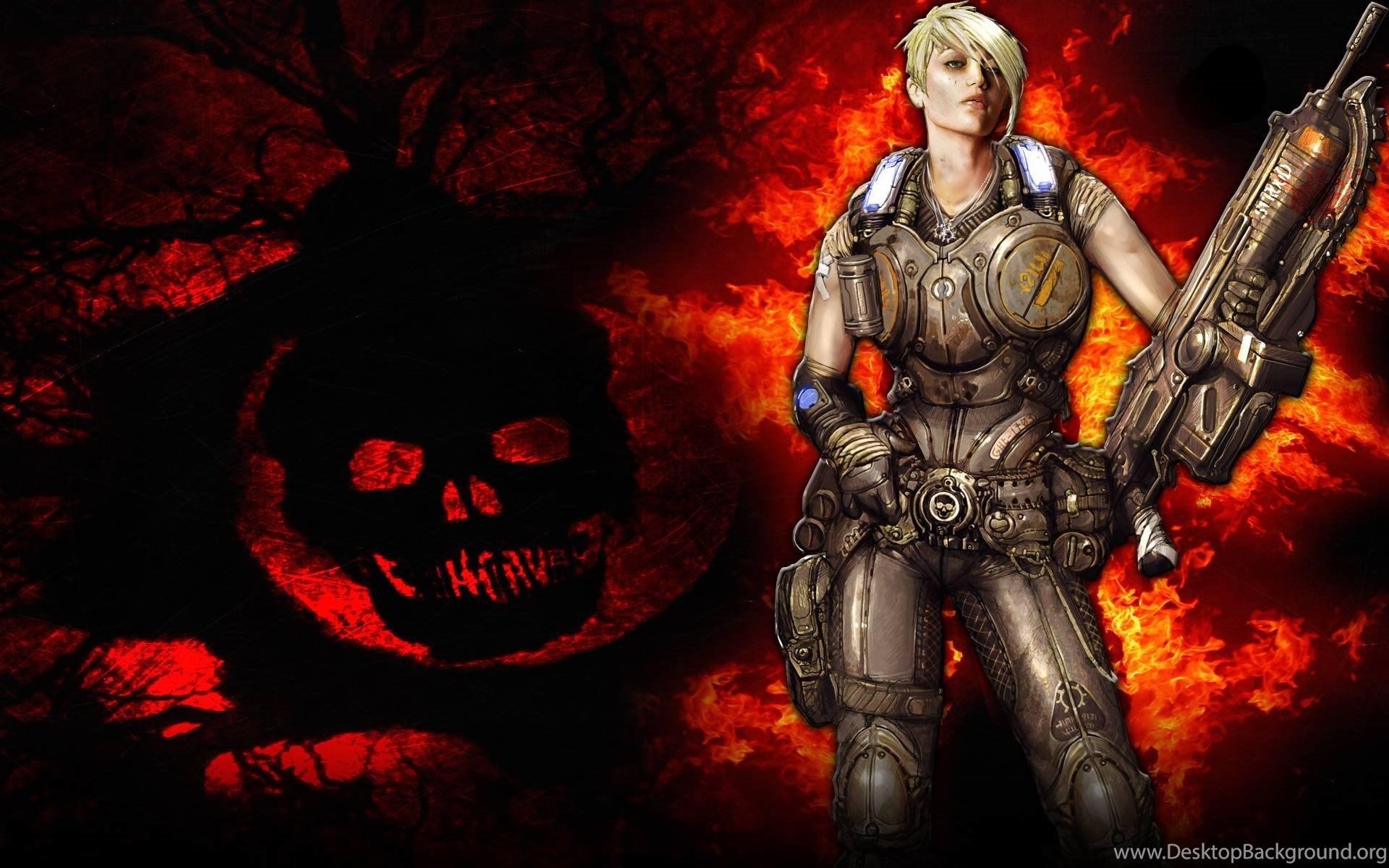 gears of war 3 wallpapers game wallpapers hd great woman desktop