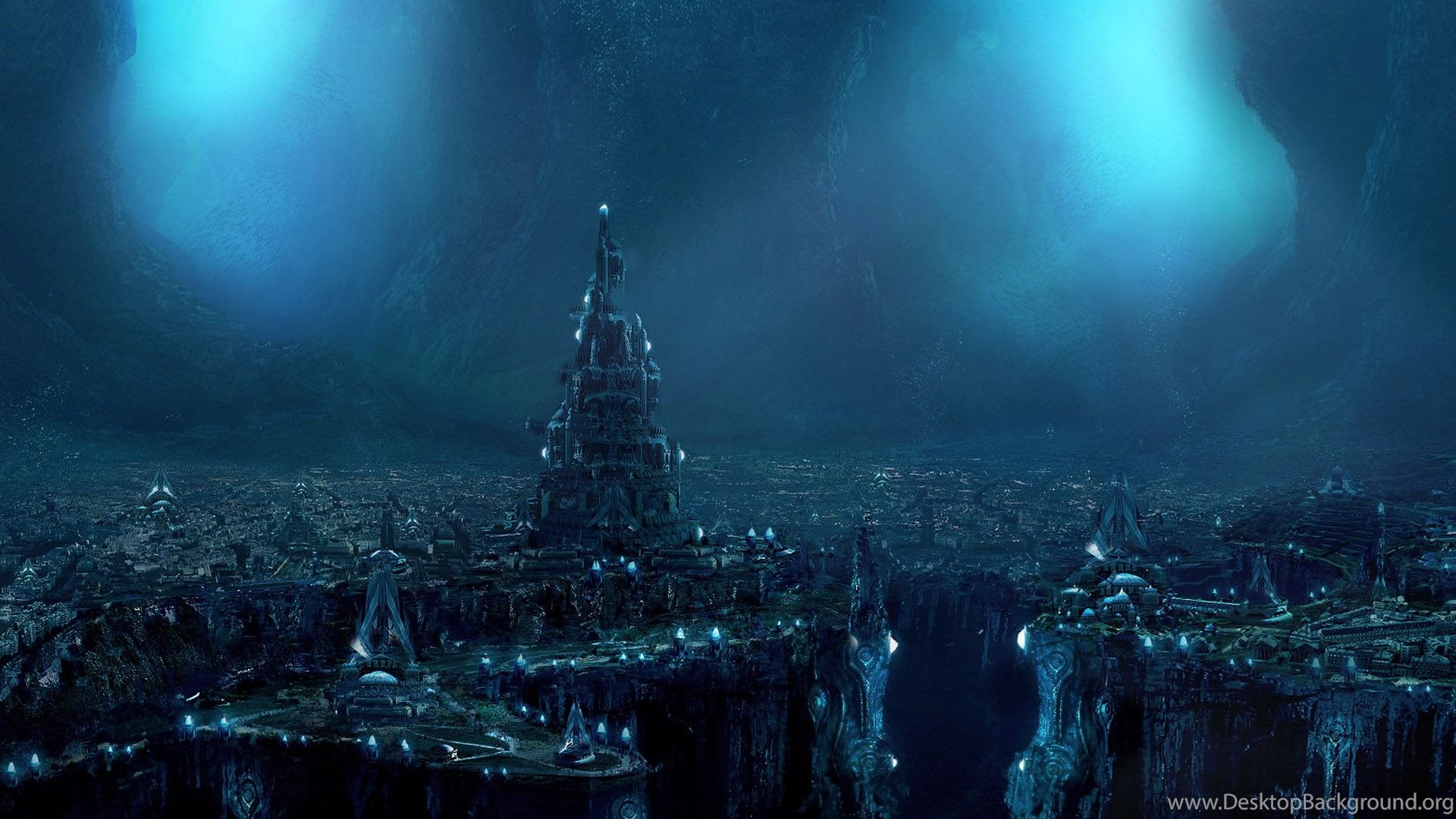 Futuristic City HD Rare Wallpapers Free Download