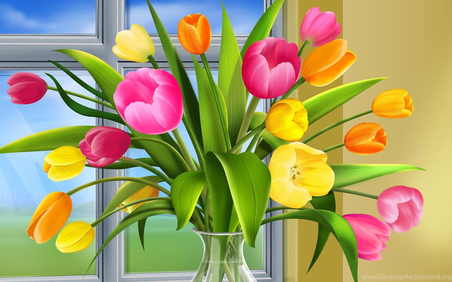 Free Desktop Wallpapers Spring Flowers Desktop Background
