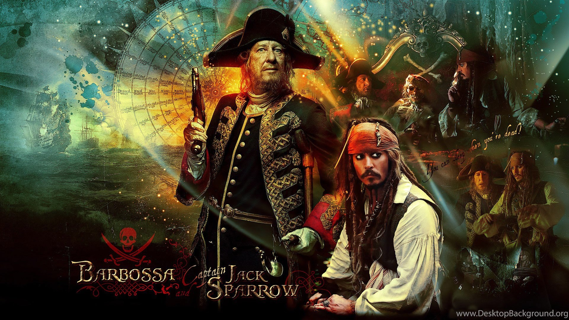 Pirates Of The Caribbean Hd Wallpapers Wallpapers Zone Desktop