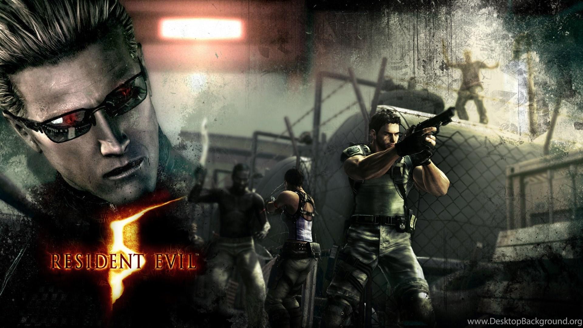 Resident Evil 5 Hd Wallpapers Wallpapers Zone Desktop Background