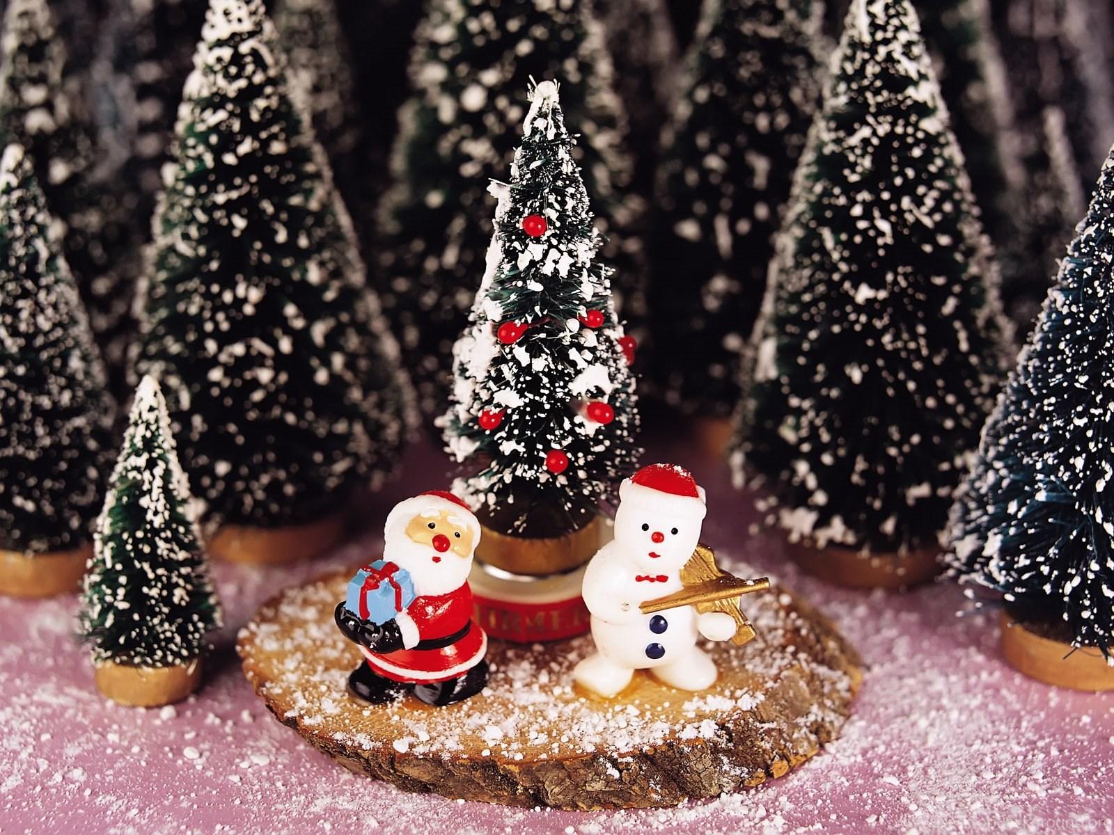 free santa clause and snowman christmas wallpapers computer desktop