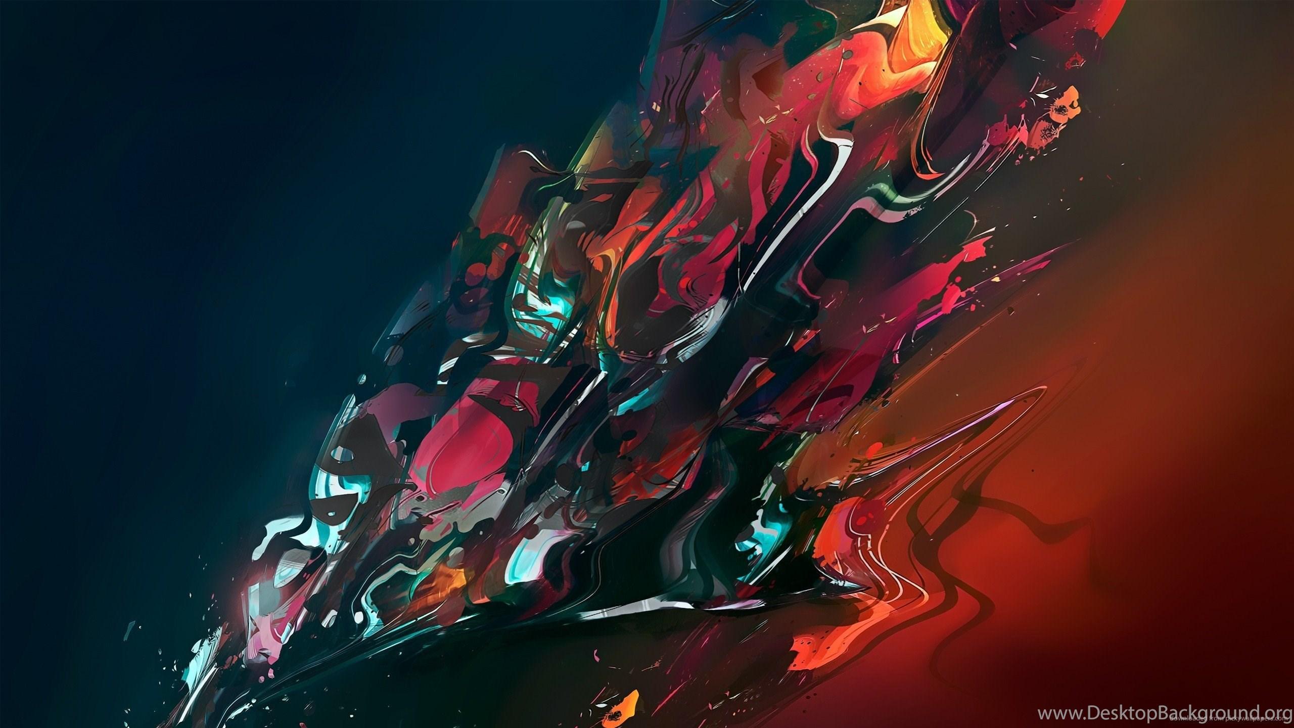 Download 2560x1440 Color Splash Wallpapers Desktop Background