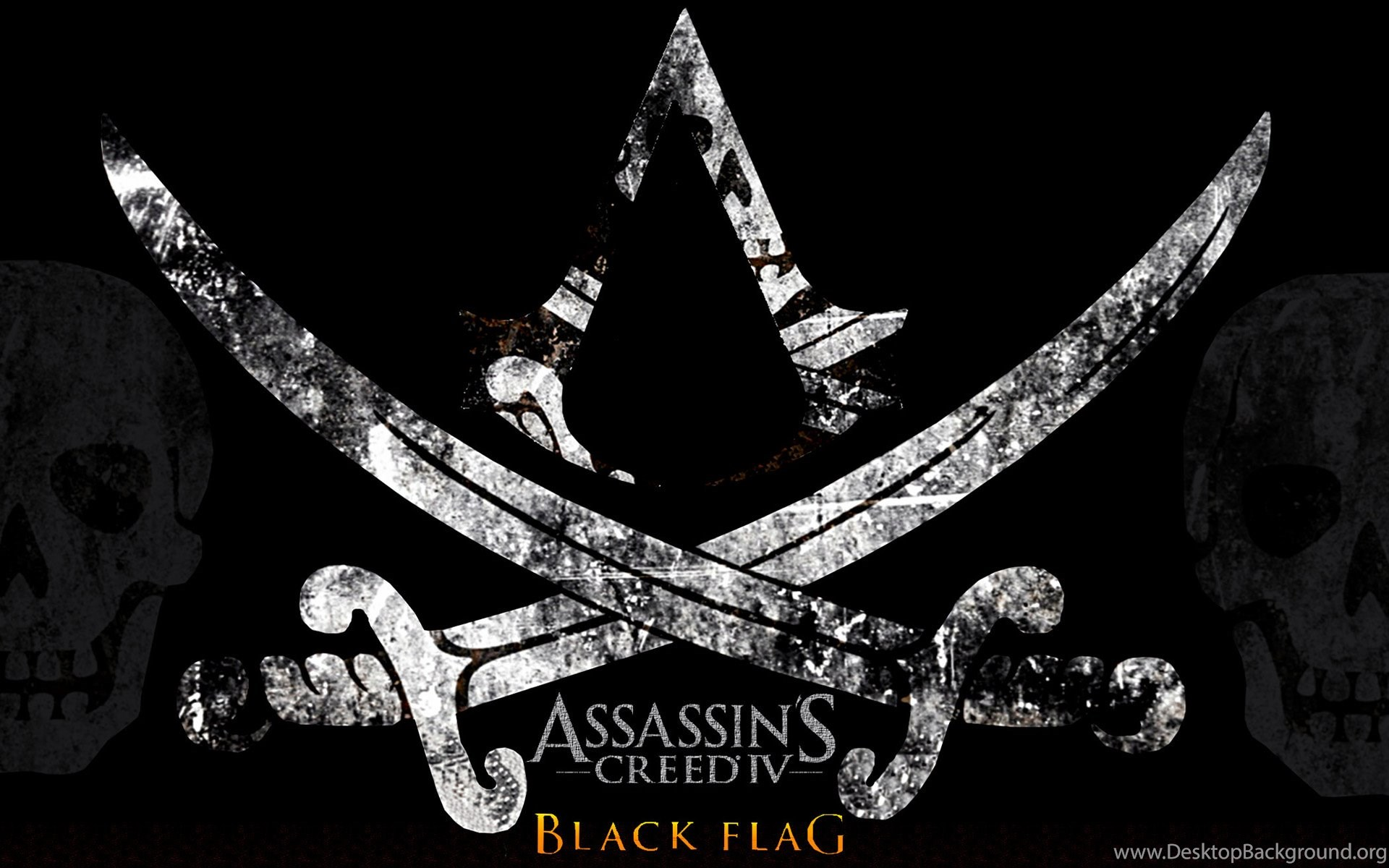 Assassins Creed Iv Black Flag Logo Wallpapers Desktop Background