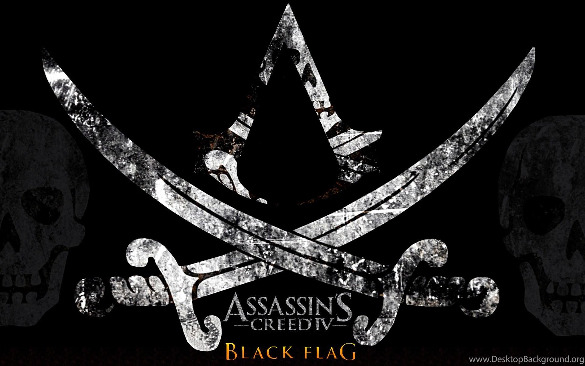 Assassins Creed Iv Black Flag Logo Wallpapers Desktop Background