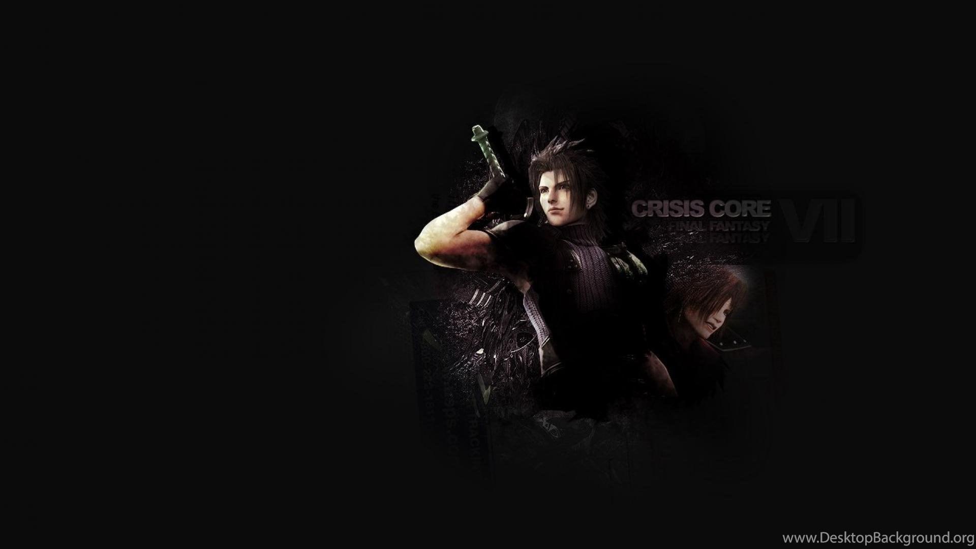 Final Fantasy Vii Crisis Core Ffvii Hd Wallpapers Desktop Background