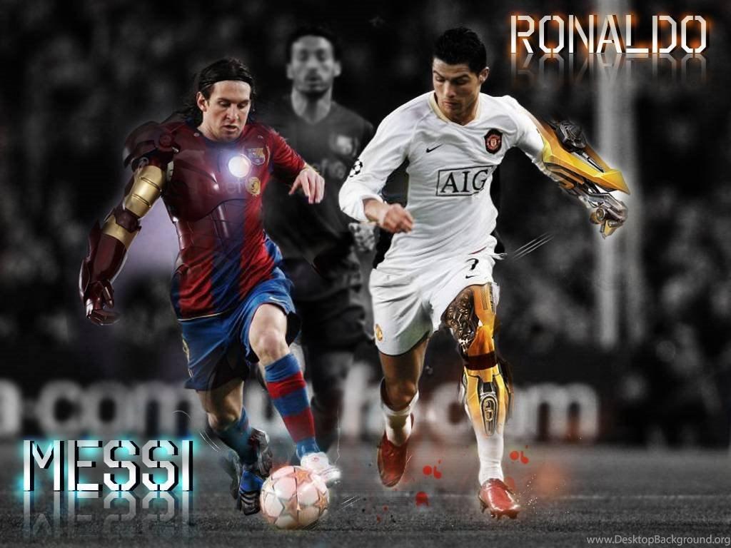 Download Messi Vs Ronaldo Wallpapers Desktop Background