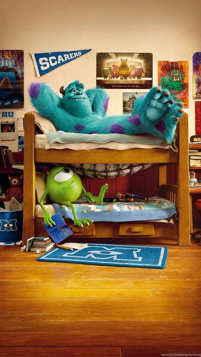 Mike Wazowski Monsters University Iphone 5 Wallpapers