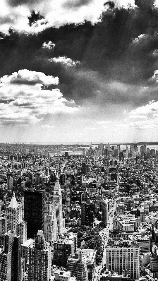 New York City Black And White Samsung Galaxy Wallpapers Hd 540x960 Desktop Background