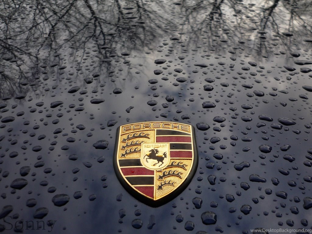 Porsche Logo Desktop Background