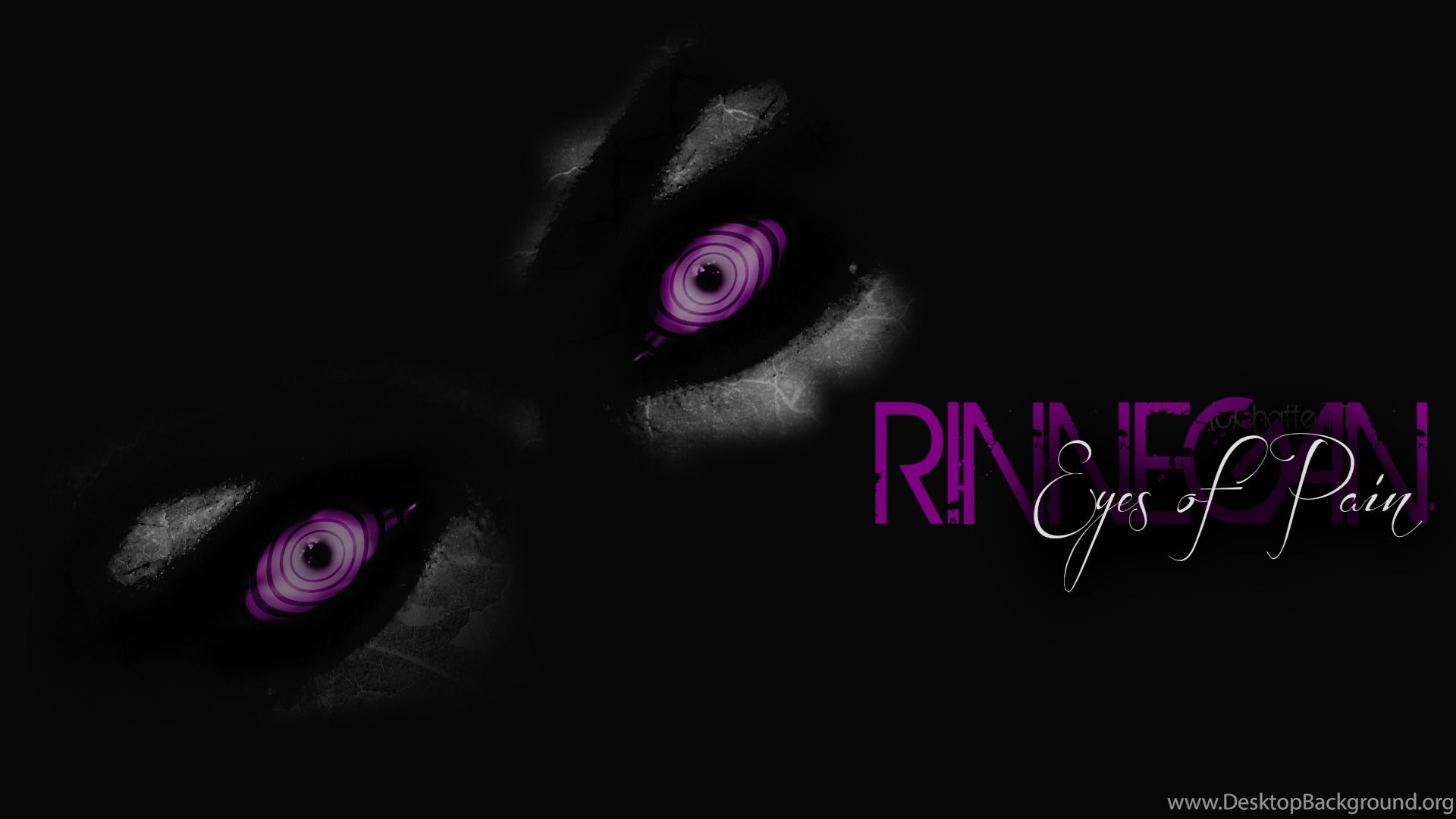 Rinnegan Eyes Of Pain By ChatteArt On DeviantArt Desktop Background