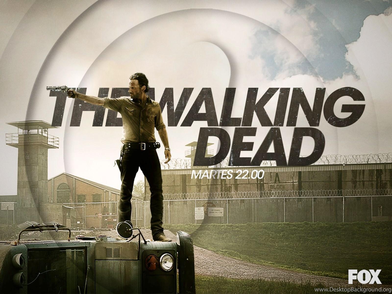 Rick Grimes The Walking Dead Wallpapers 33489795 Fanpop Desktop