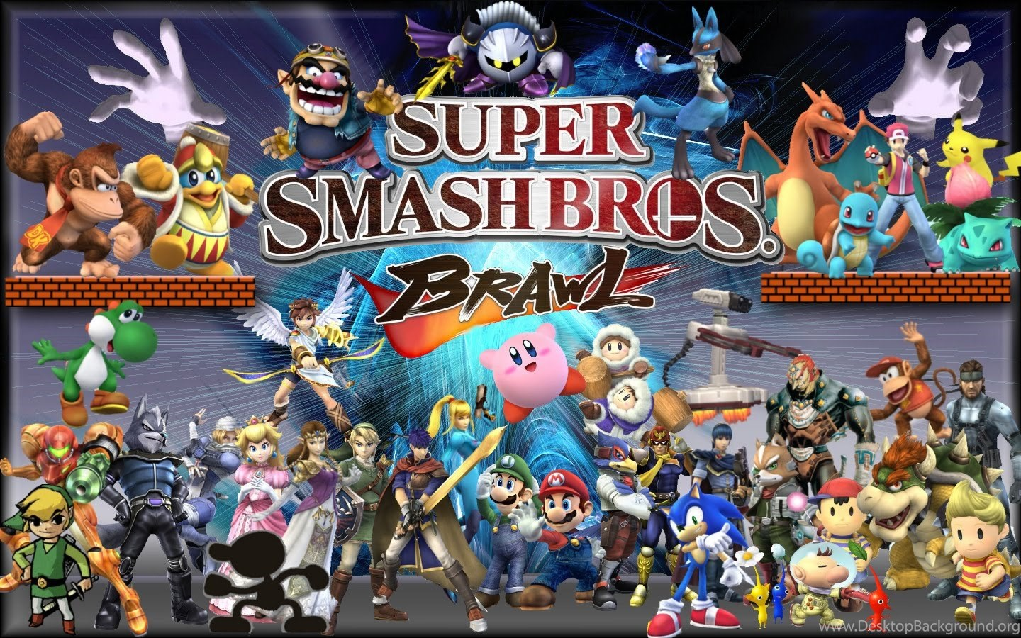 Disney Hd Wallpapers Super Smash Bros Brawl Hd Wallpapers