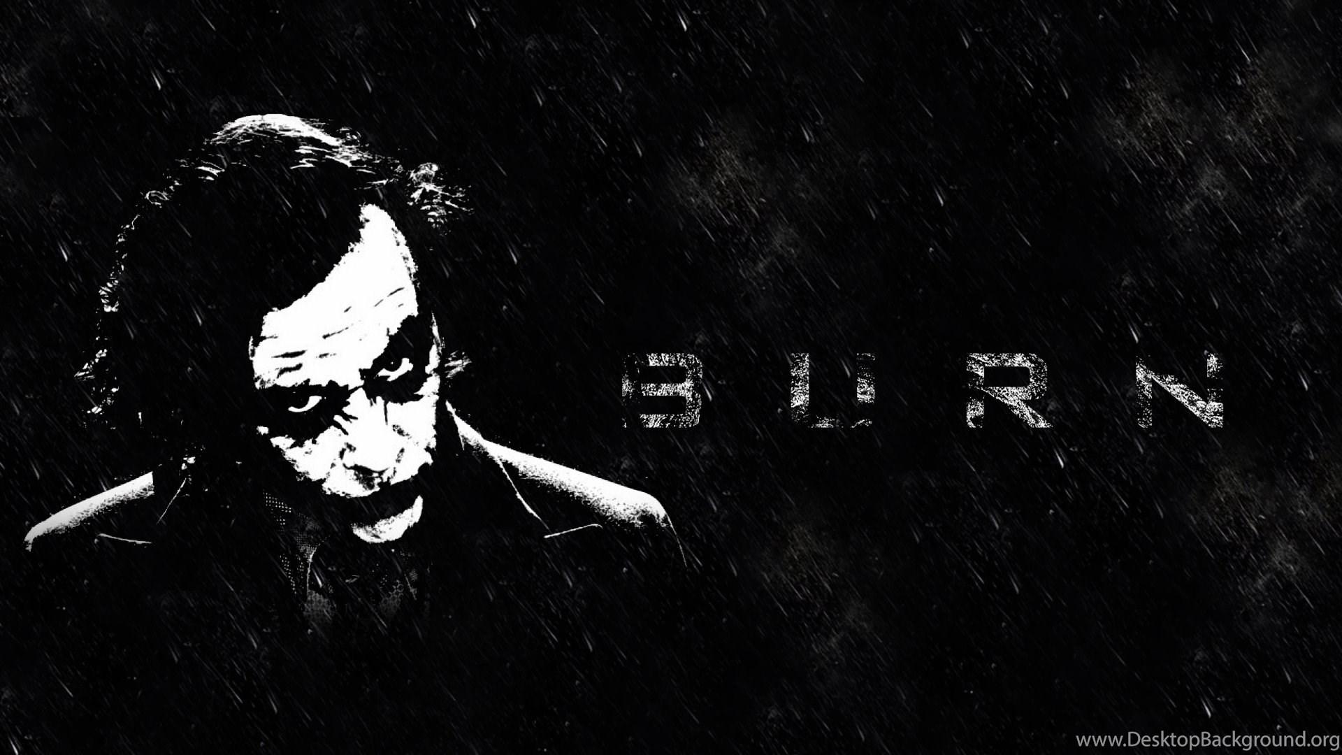 dark joker wallpapers hd desktop background