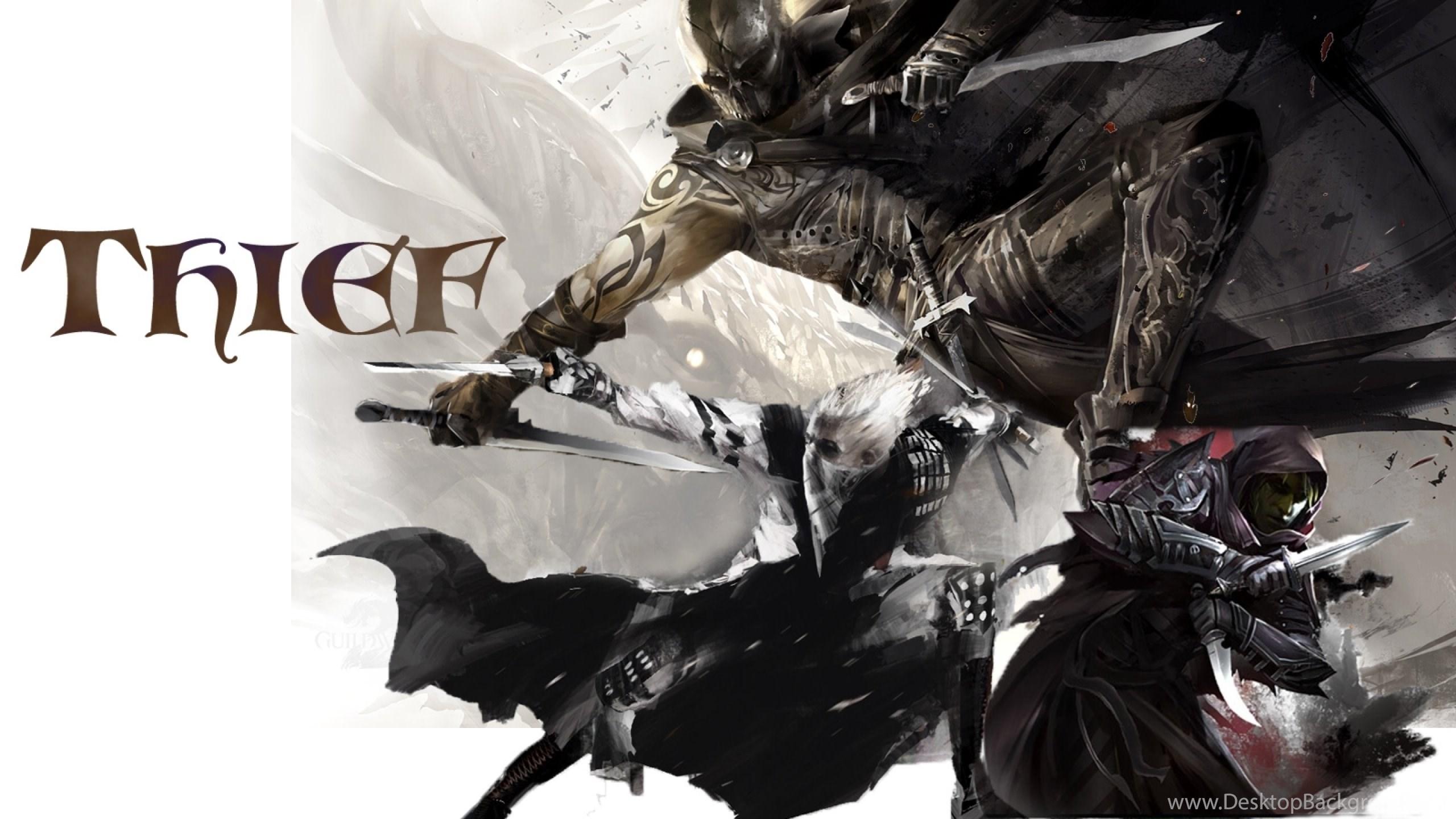 Download Wallpapers Download 2560x1440 Guild Wars 2 Thief Best