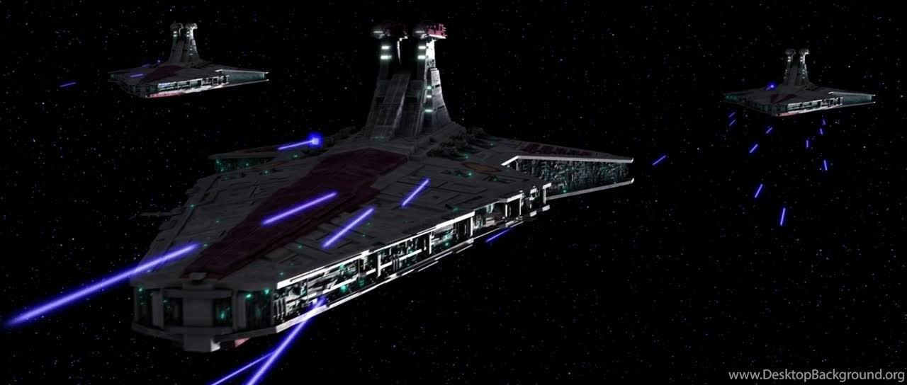 Asphiax Venator Class Republic Star Destroyer Desktop Background