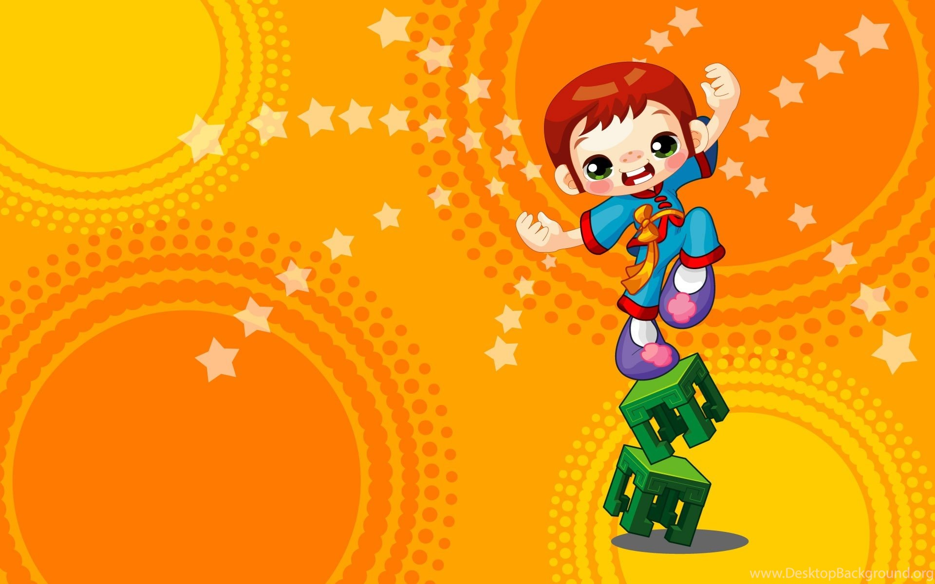 High Resolution Colorful Cartoon Kids Backgrounds Wallpapers HD 13