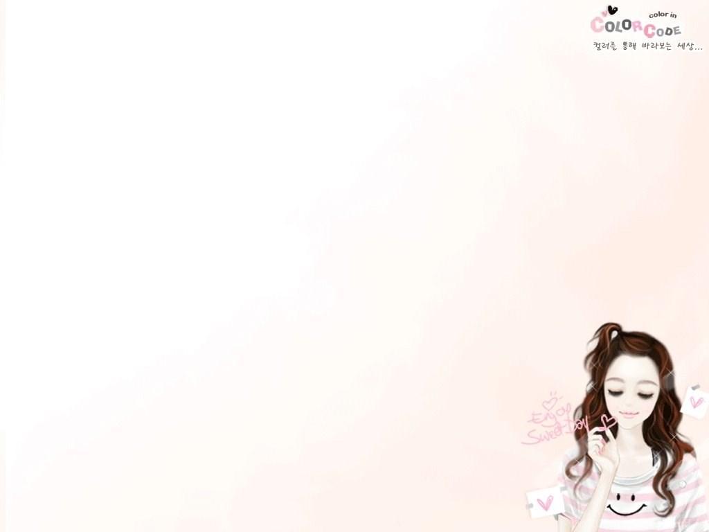 Wallpapers Anime Couple No Girls Korea Cartoon Boy And Girl Cute Desktop Background