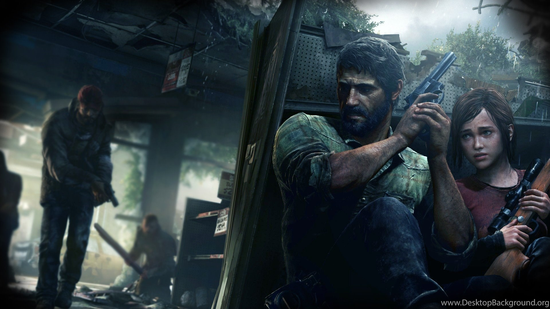 The Last Of Us Hd Wallpapers And Backgrounds Desktop Background