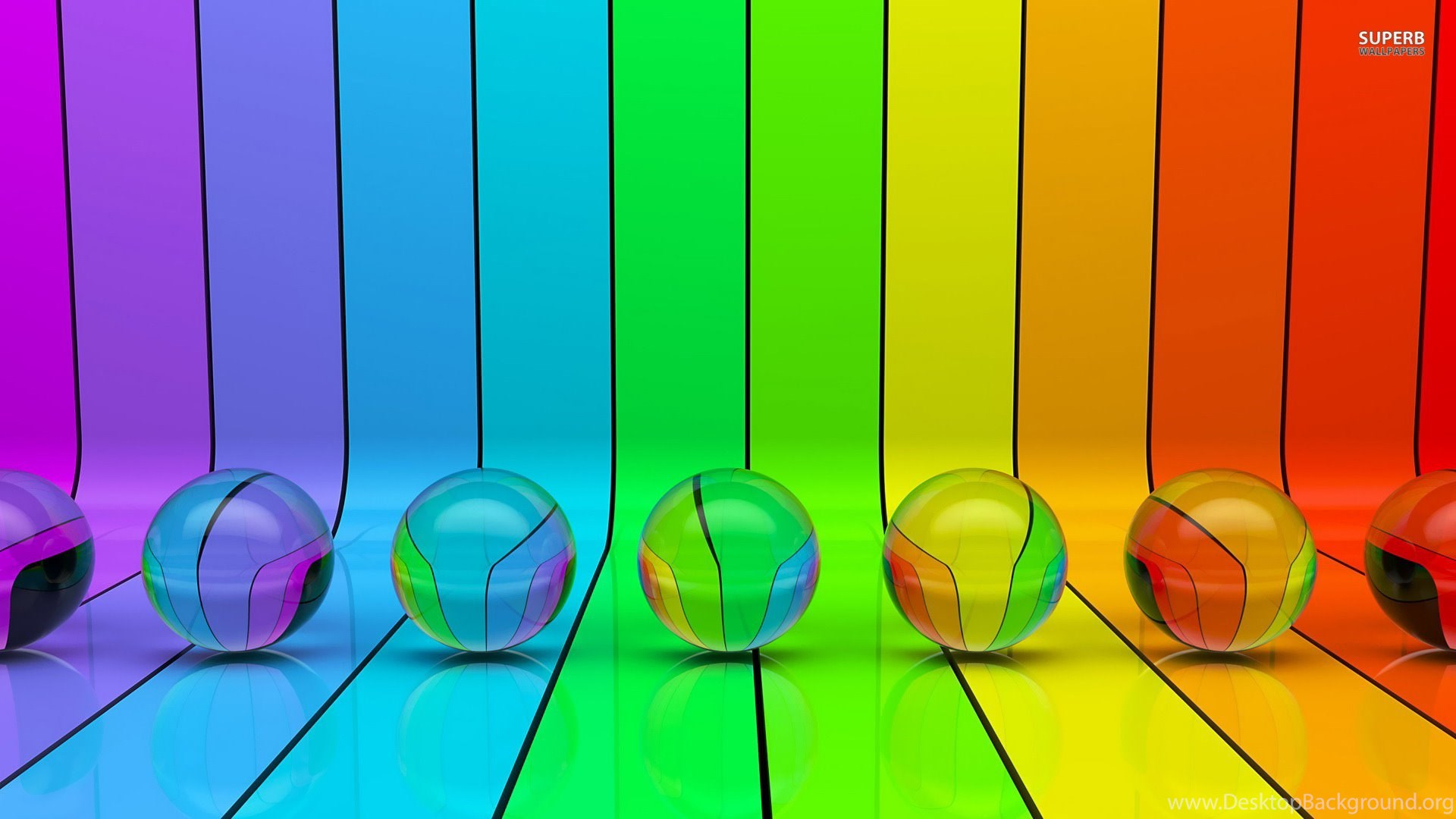 High Resolution Cool Colorful 3d Rainbow Wallpapers Hd 10 Full Size