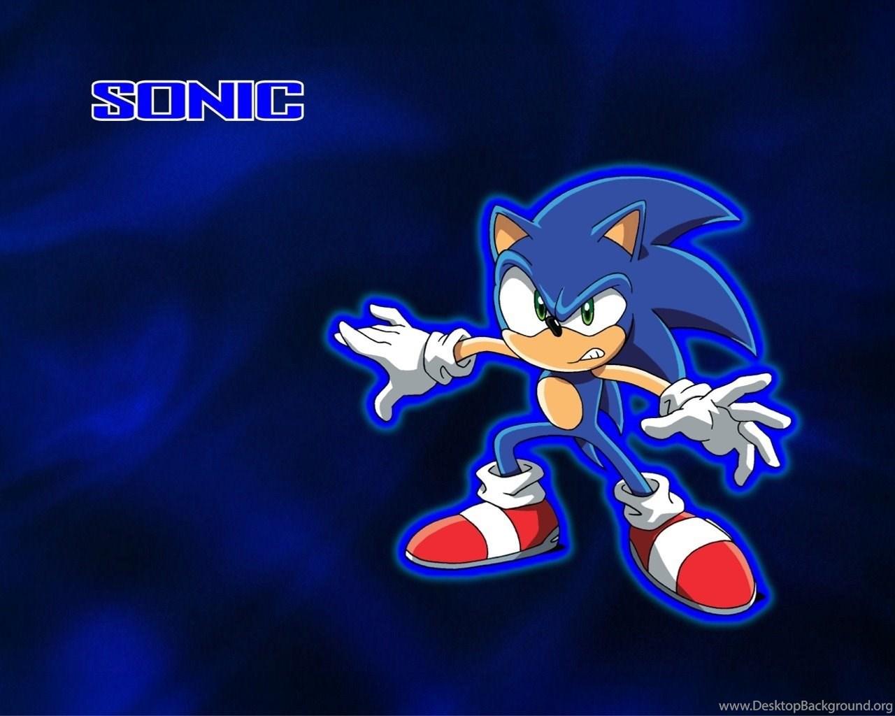 Sonic The Hedgehog Wallpapers Hd Backgrounds Wallpapers Desktop Background