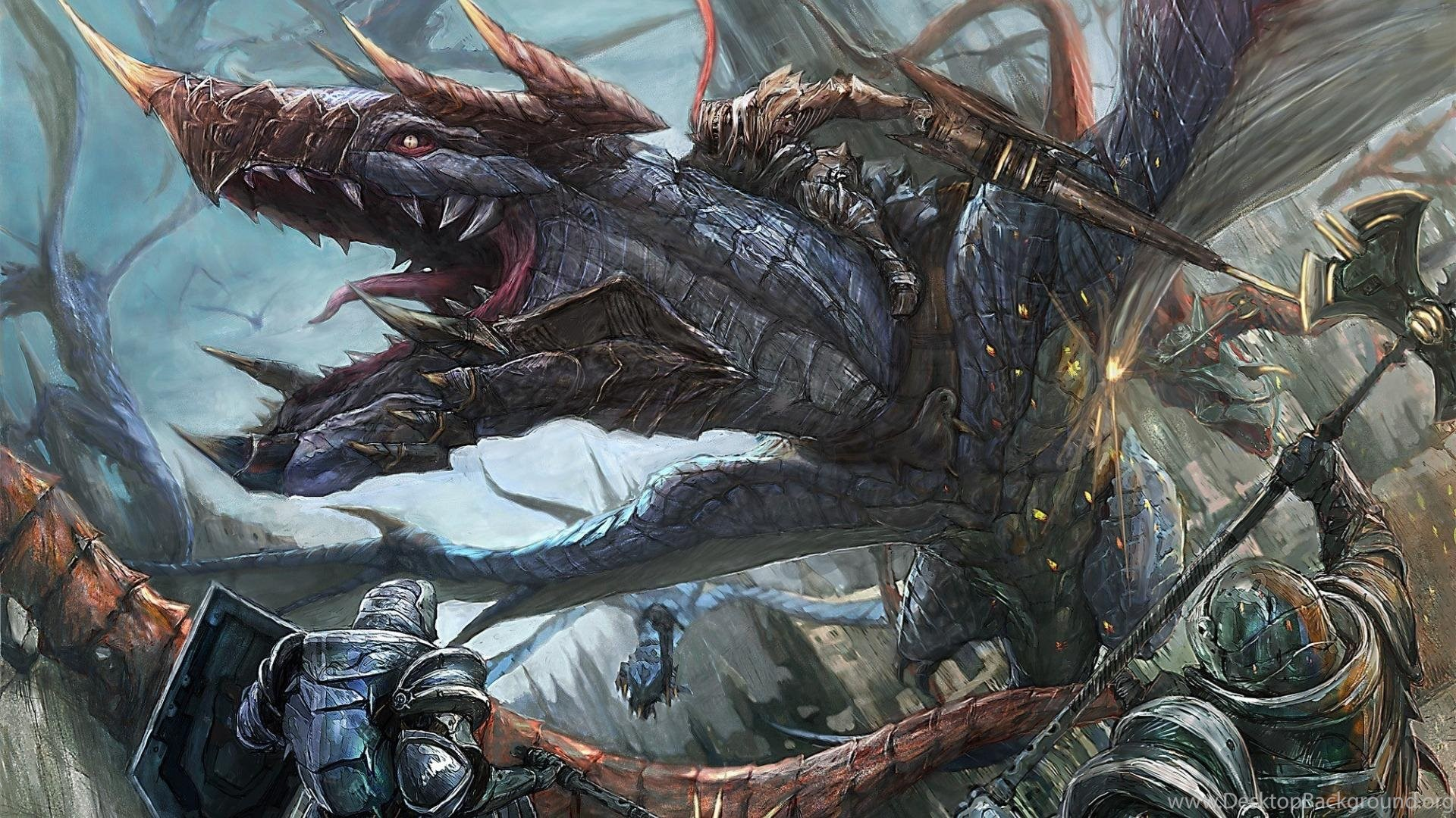 3d Fantasy Dragons Art Armor Artwork Warriors Fighting Battle D Hd Desktop Background A fantastic series of illustrations by artist frost llamzon mashing up the avengers inside the world of dungeons and dragons. 3d fantasy dragons art armor artwork