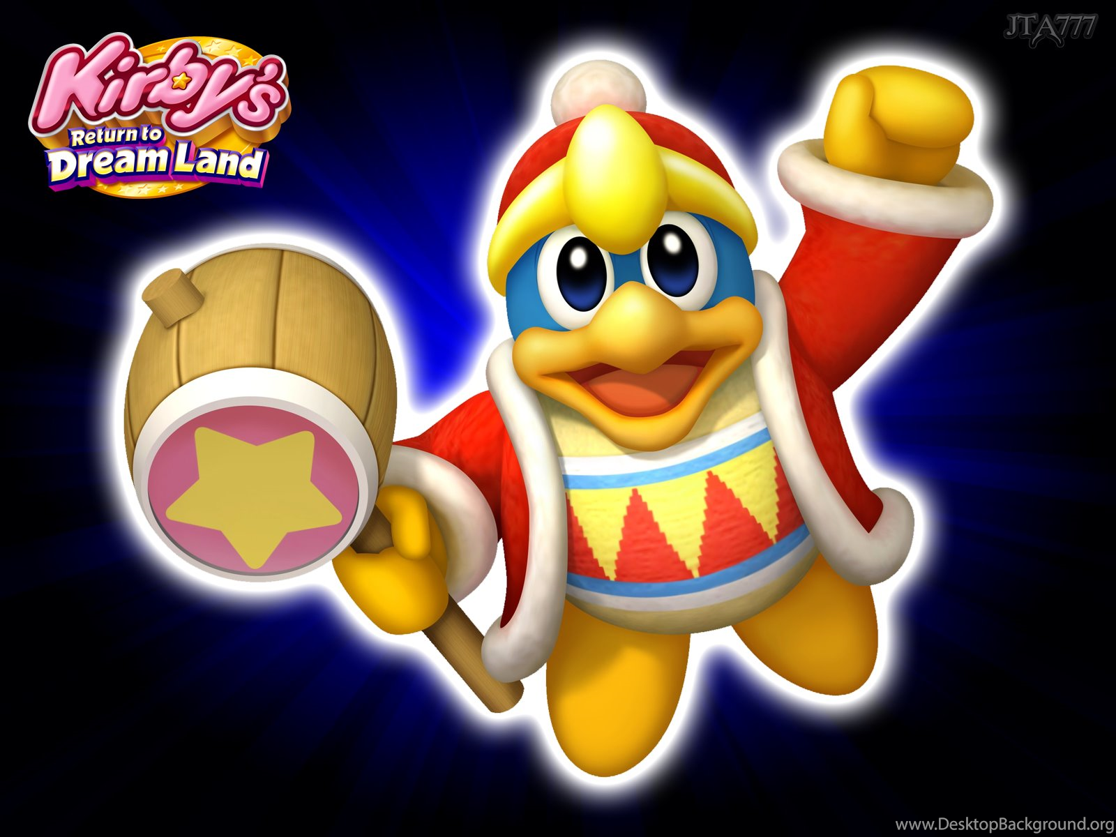 5 New Kirby Return To Dreamland Wallpapers 2 Different Sizes