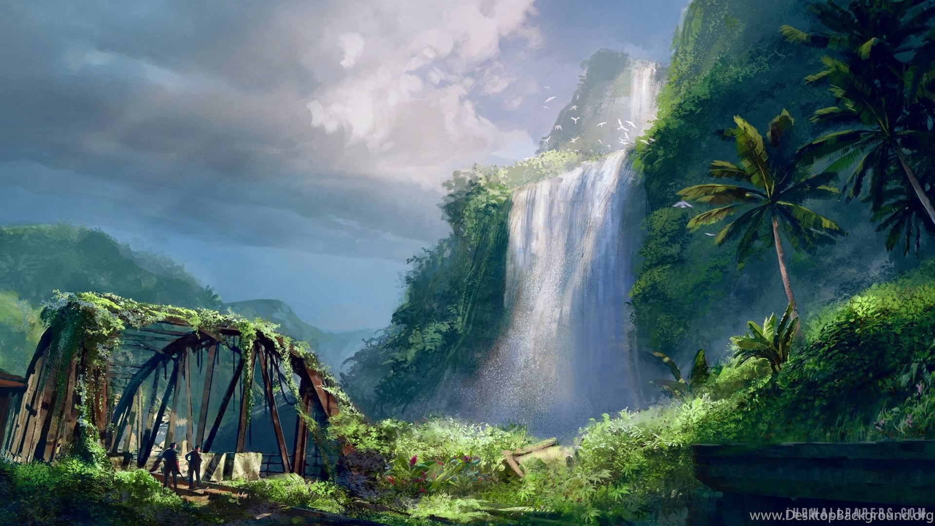 Far Cry 3 Waterfalls HD Wallpapers IHD Wallpapers Desktop