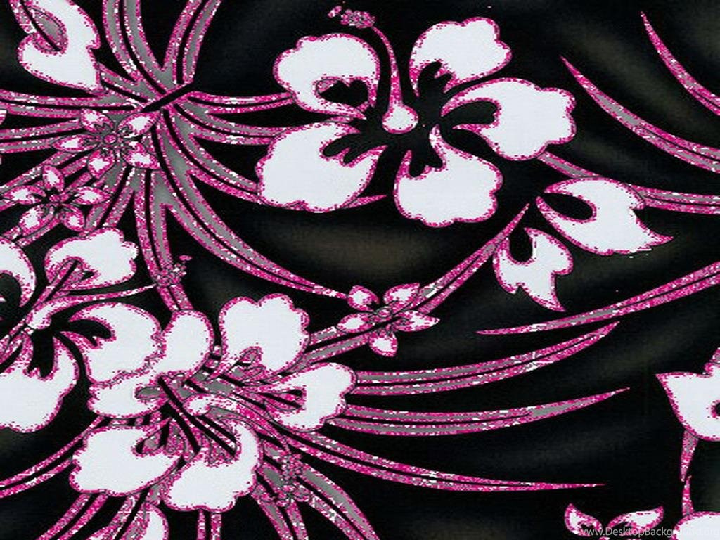 Pink and black flower wallpapers wallpapers hd wide desktop background mightylinksfo