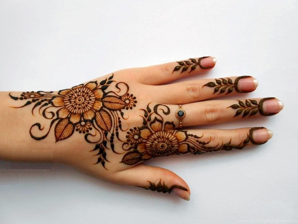 Bridal Mehndi Designs Latest Fancy Hand Design Wallpapers