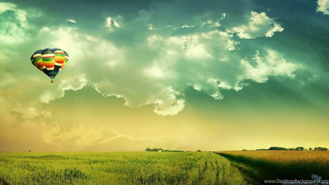 wallpapers nachural wallpapr natural fields clouds 1366x768