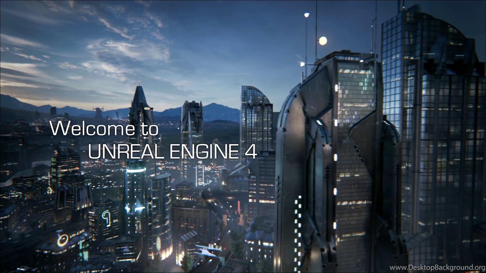 Unreal Engine 4 Logo Wallpaper  Desktop Background