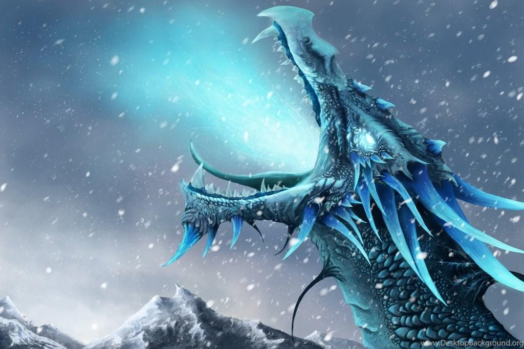 Hd Ice Dragon Wallpapers Desktop Background