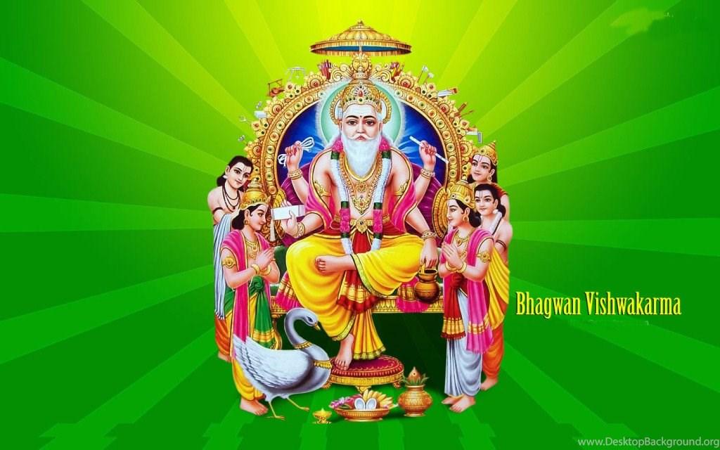 Shri Vishwakarma Hindu God Hd Wallpapers Desktop Background