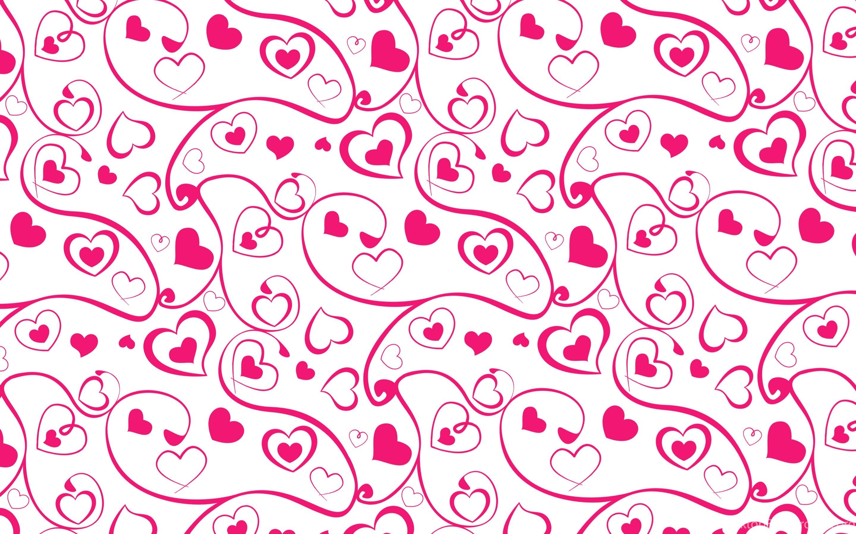 Heart And Swirl Pattern Wallpapers WallDevil Best Free HD