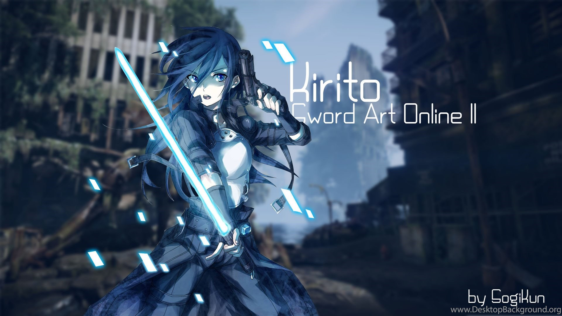 Free Download Kirito Sword Art Online Sao Computer Wallpapers