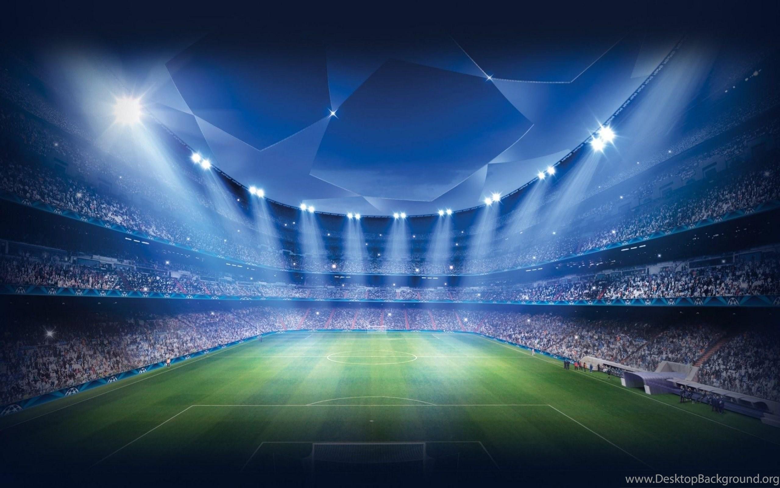 Football stadium soccer pitch wallpapers hd for desktop desktop background - Soccer stadium hd ...