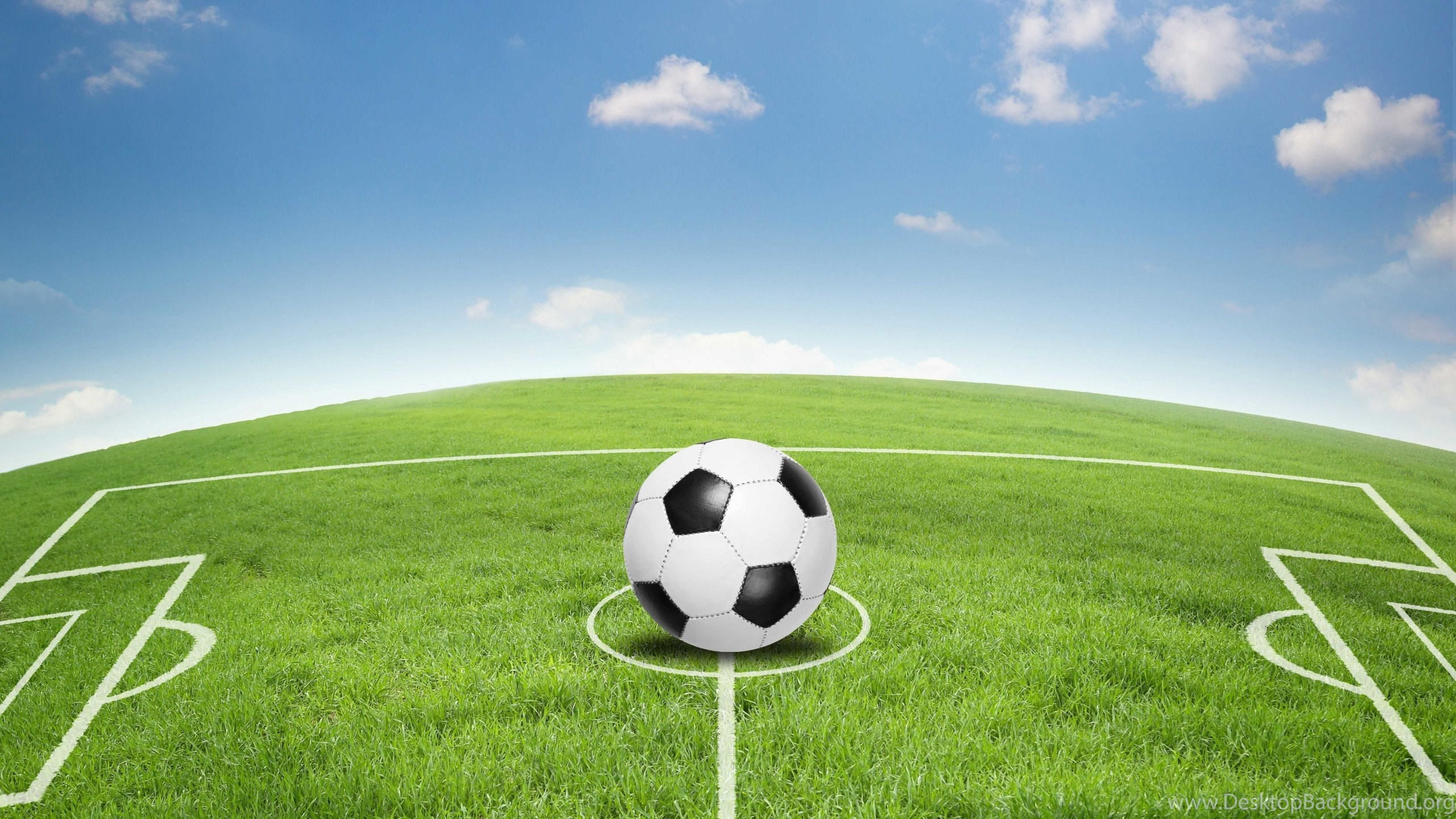 Download Wallpapers Art, Football Field, Soccer Field
