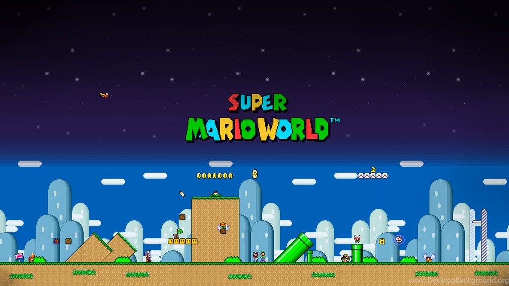 Super Mario World Wallpapers By Jerry480 On DeviantArt